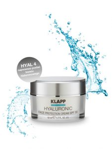 Hyaluronic Face Protection Cream woda