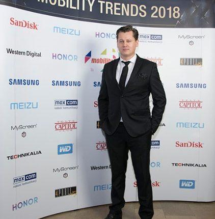 Tomasz Cieślak, pomysłodawca Mobility Trends